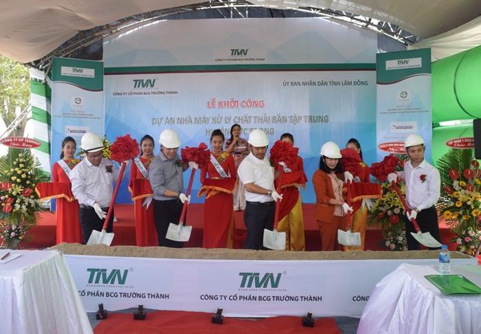 Dự án xử lý nước thải huyện Đức Trọng – Lâm Đồng.